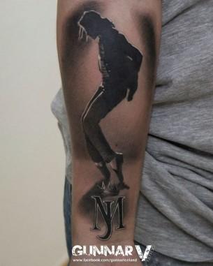Tattoo Tribute to MJ