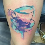 Tea Cup Tattoo