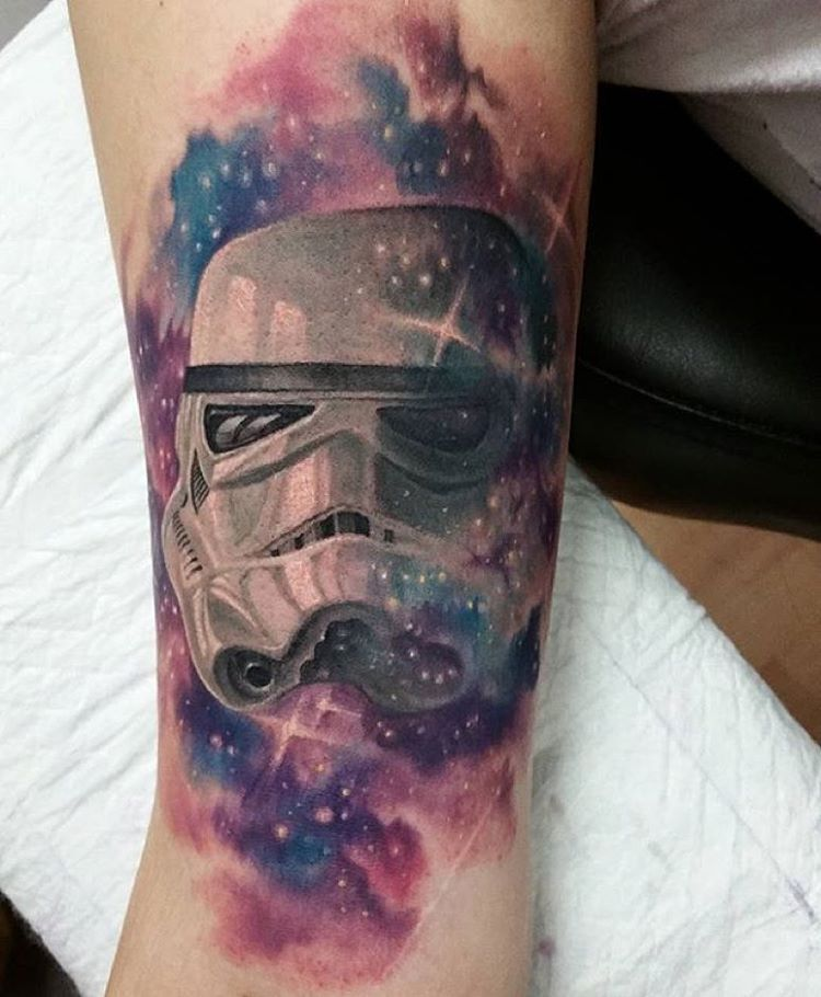 colour space trooper tattoo