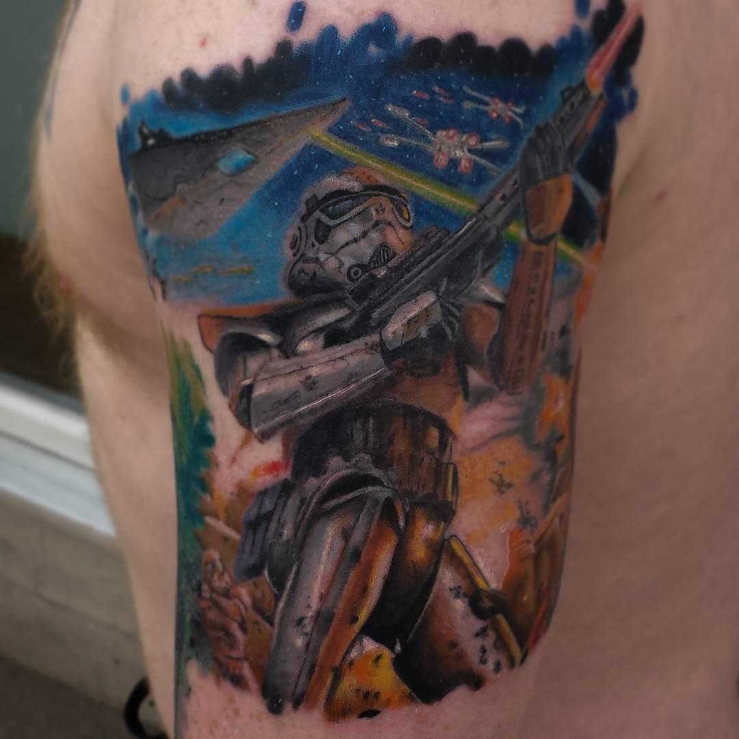 fullsize stormtrooper tattoo