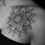 Mandala Sun Tattoo
