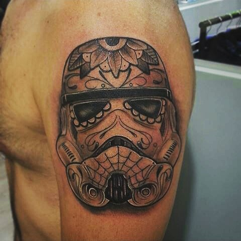 muerte tattoo trooper