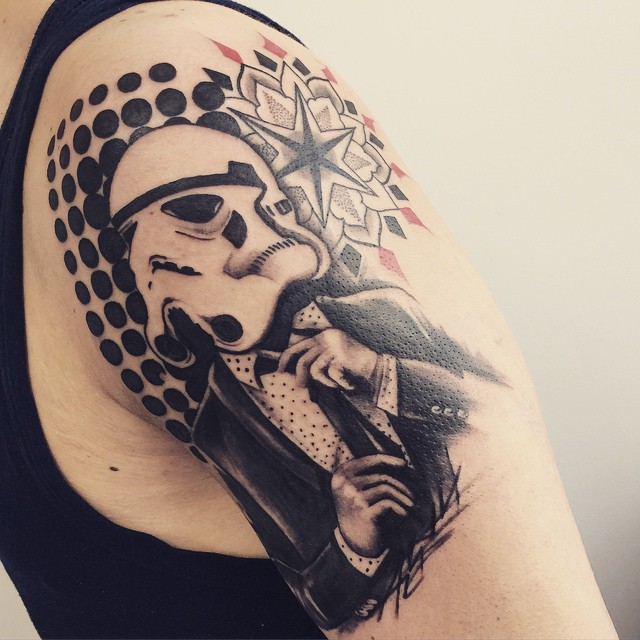 stormtrooper art tattoo