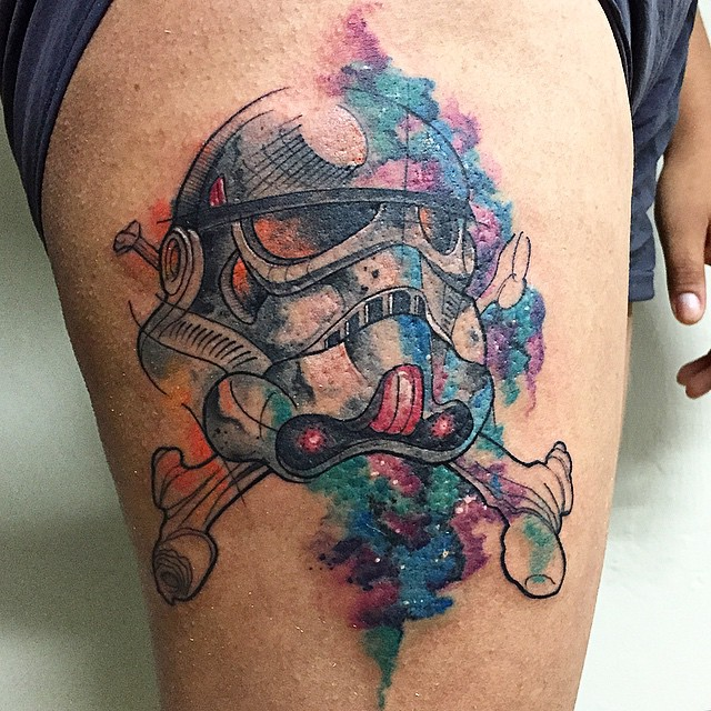 stormtrooper pirate tattoo