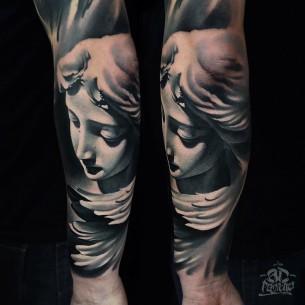 3D Tattoo Arm