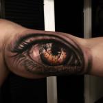 Bicep Tattoo