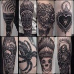 Tattoos Dotwork