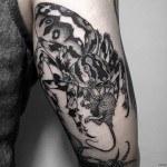Eat Rat Spider Tattoo