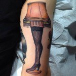 Fragile Lamp Tattoo