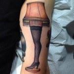 Fragile Lamp Tattoo