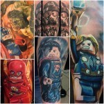 Lego Minifigure Tattoos
