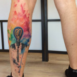 Lower Leg Tattoo