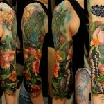 Nature Tattoo Sleeve