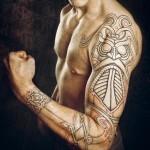 Norse Tattoo Sleeve Godmask
