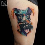 Painted Dog Tattoo
