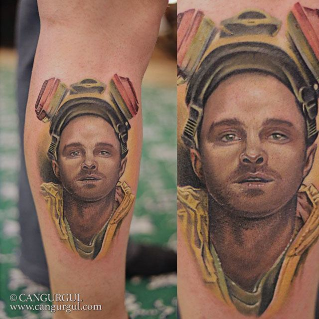 breaking bad tattoo Jesse Pinkman