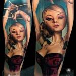 Self Puppet Tattoo