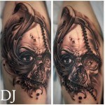 Skull Design Tattoo