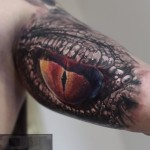 Snake Eye Tattoo