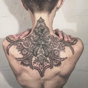 Top Back Tattoo