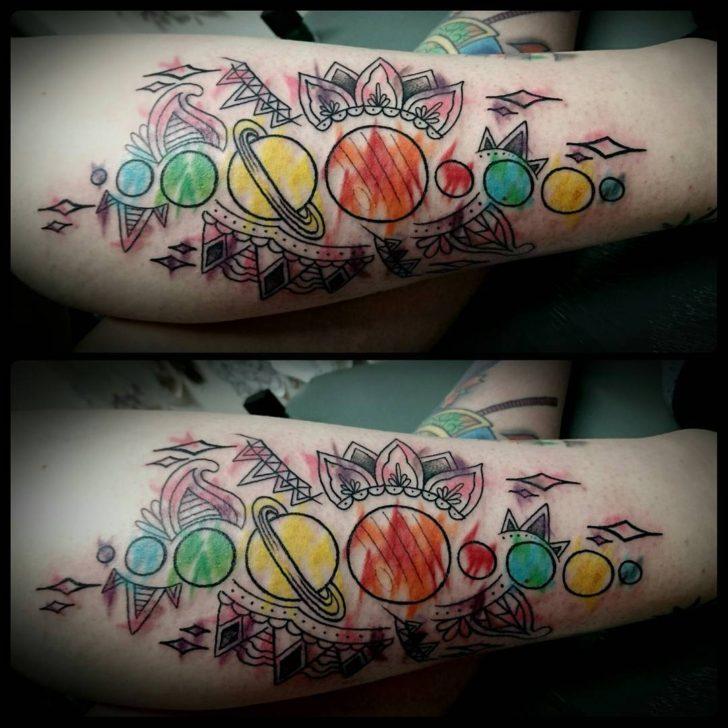 girls planet tattoo