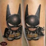 cute kid batman tattoo