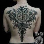 Back Tattoo For Girl