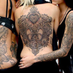 Baroque Girls Tattoos