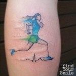 Fast Runner Tattoo