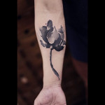 Flower Tattoo Arm