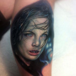 Girl Vampire Tattoo Underworld