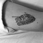 Linework Tank Tattoo