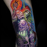 Mighty Sylvanas Tattoo
