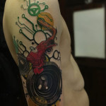 Music Design Tattoo