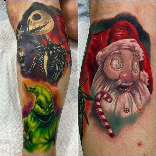 night before christmas tattoo