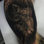 Ram Sacrifice Tattoo