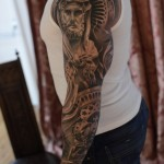 Religious Tattoo Sleeve