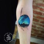 Istanbul Skyline tattoo
