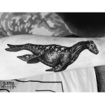 Swimming Dragon Tattoo