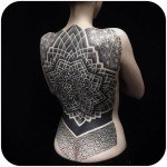 Tattoo Girl Back