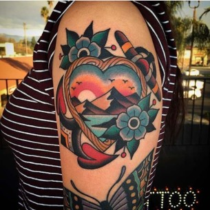 Traditional Style Tattoo