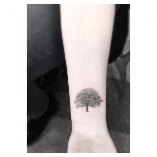 Tree Wrist Tattoo