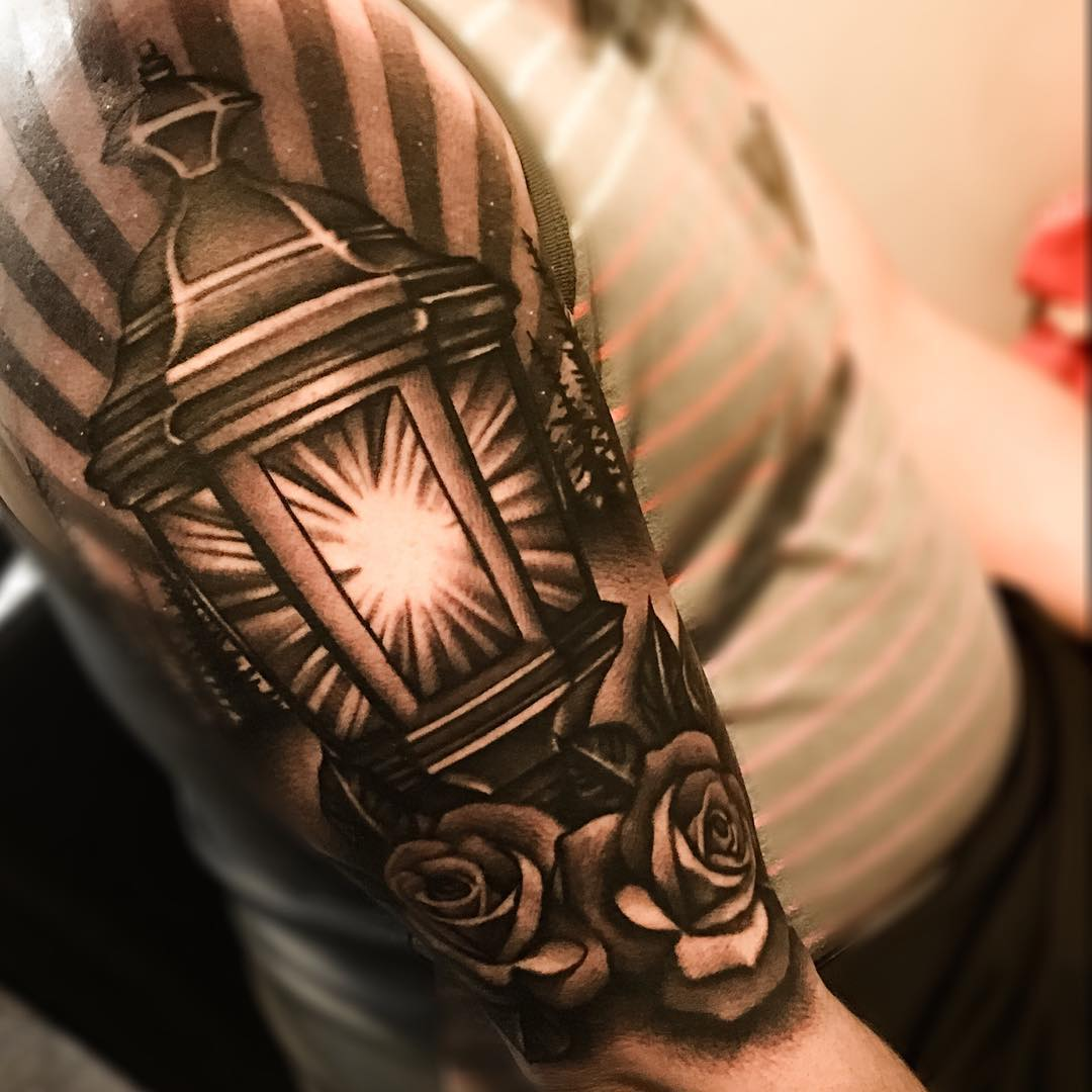 Lantern Tattoos Best Tattoo Ideas Gallery