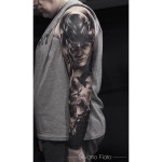 Asgard Tattoo Sleeve