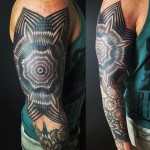 Concentric Tattoo Sleeve