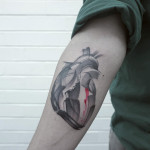 Heart Tattoo Arm