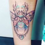 bug tattoo love