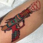 Love Gun Tattoo
