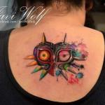 Majoras Mask Tattoo