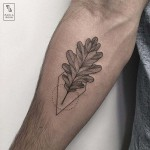 Oak Leaf Tattoo